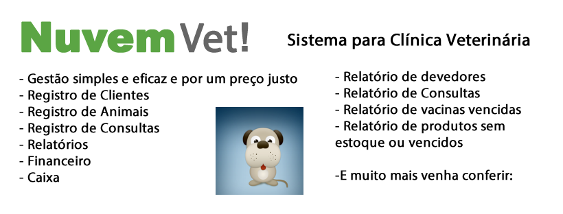Nuvem Vet - Software Veterinário